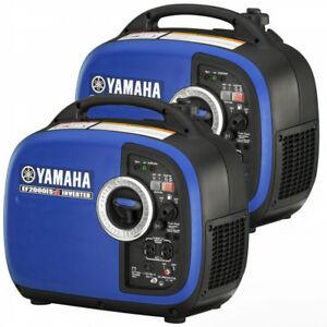 Yamaha Generators for Home, RV, Camp Site, Job Site!