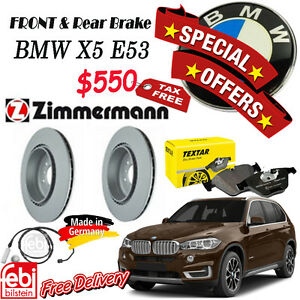 SPECIAL OFFER for Brake Set Package- BMW- X5 E53