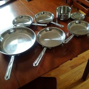 7-piece Cuisinart MultiClad Skillet and Saucepan set