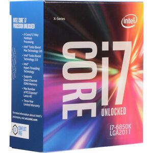 Processeur Intel Core i7 6850K Neuf scellé
