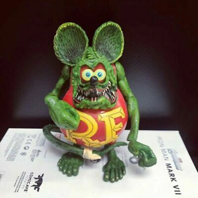 """Rat Fink Action Figure Ed """"Big Daddy"""" Roth Kids Best Gift Special Red Edition"""