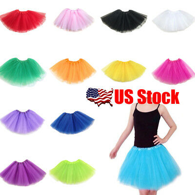 Women Adult Mesh Skirts Layer Underskirt Petticoat Dance Tutu Pettiskirt Dresses - Tutu Skirts For Women