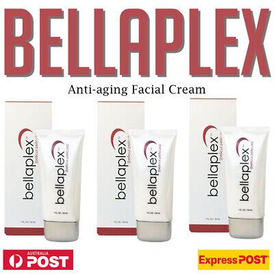 3 x BELLAPLEX Bellicus Pellicula 30ml Hydroxatone Anti Ageing Serum AU