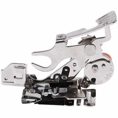 Prensatelas plisados para Brother Singer Kenmore maquina de coser de cana F6F9