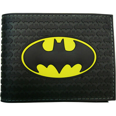 Batman Logo Superhero DC Comics Bifold Wallet