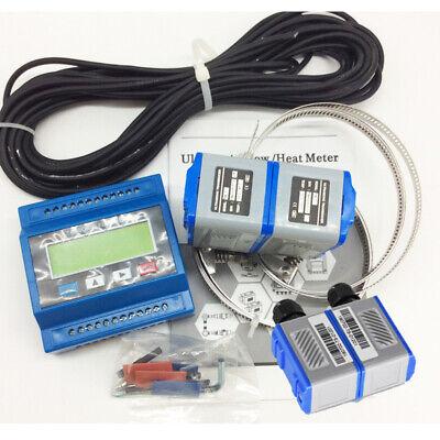 Ultrasonic Flowmeter Module Liquid Water Flow Meter With 2 Pair Transducer