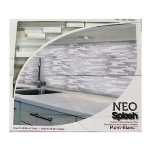 Mont Blanc 6-Pack NEO Splash Tile (6 SQ. Ft.)