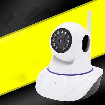 Wireless Wifi IP Home Security CCTV Camera Pan Tilt Monitor IR Night Vision