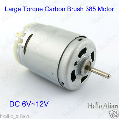 Low Current and Low Noise DC Motor 2000 RPM Dual Shaft Motor Buehler 12V