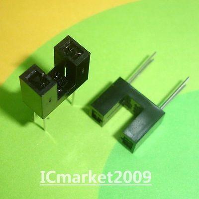 10 Pcs Hy301-07a 15 Slot Pcb Photo Interrupter Sensor Hy301-07