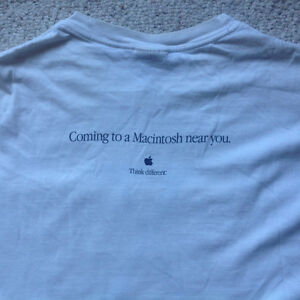 Mac OS 10.0 and pre-release T-shirt Strathcona County Edmonton Area image 3