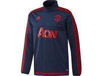MUFC Adidas Long Sleeve Training Top (Brand New)