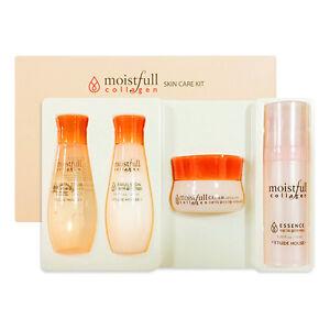 [ETUDE HOUSE]  Moistfull Collagen Skin Care Kit - 4 Kinds Sample