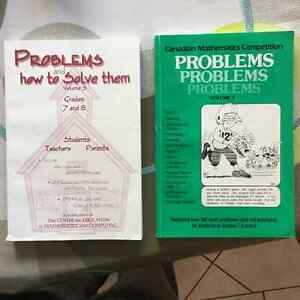 Canadian Mathematics Competition Problems Books London Ontario image 1