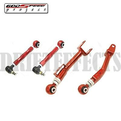 GODSPEED FRS FR-S BRZ 13-15 REAR TRAILING ARM+TOE ADJUSTABLE SUSPENSION SET KIT