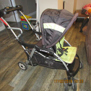 BABY TREND STAND AND SIT LX STROLLER