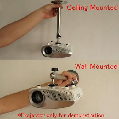 Mini Projector Wall Ceiling Bracket Mount Hanger Stand Holder 3kg Load US X5C7H