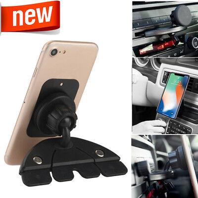 360 Magnetic Car CD Dash Slot Mount Holder Cradle for iPhone Cell Phone Samsung