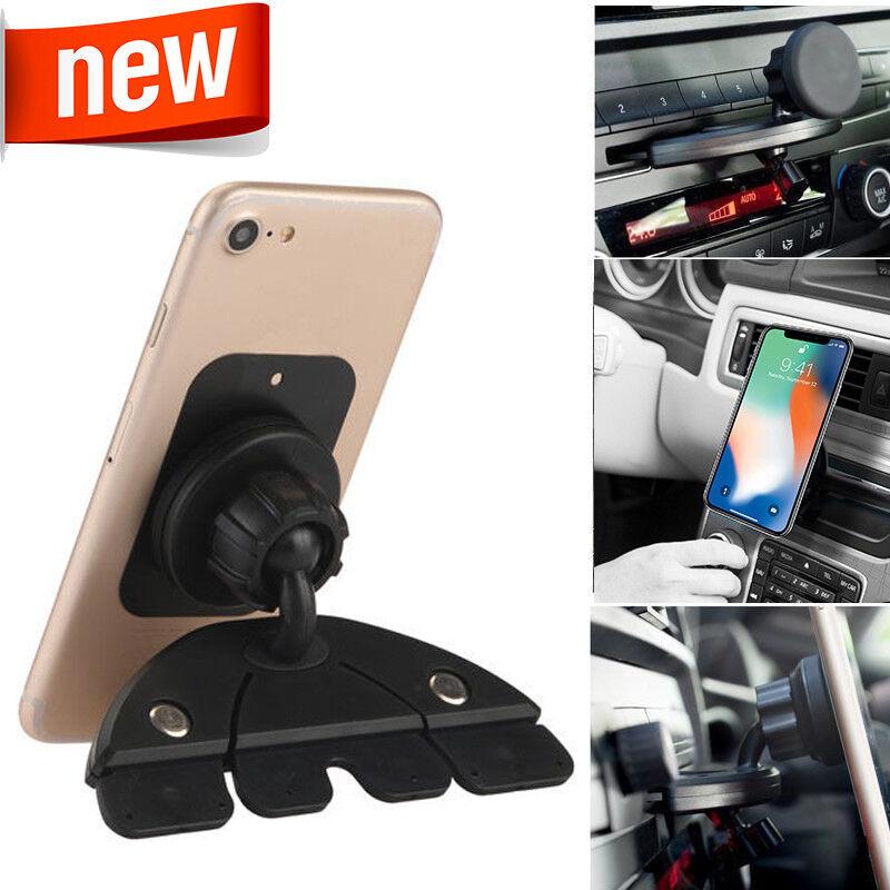 Car Magnet Mount CD Slot Magnetic Holder Stand For Mobile iP