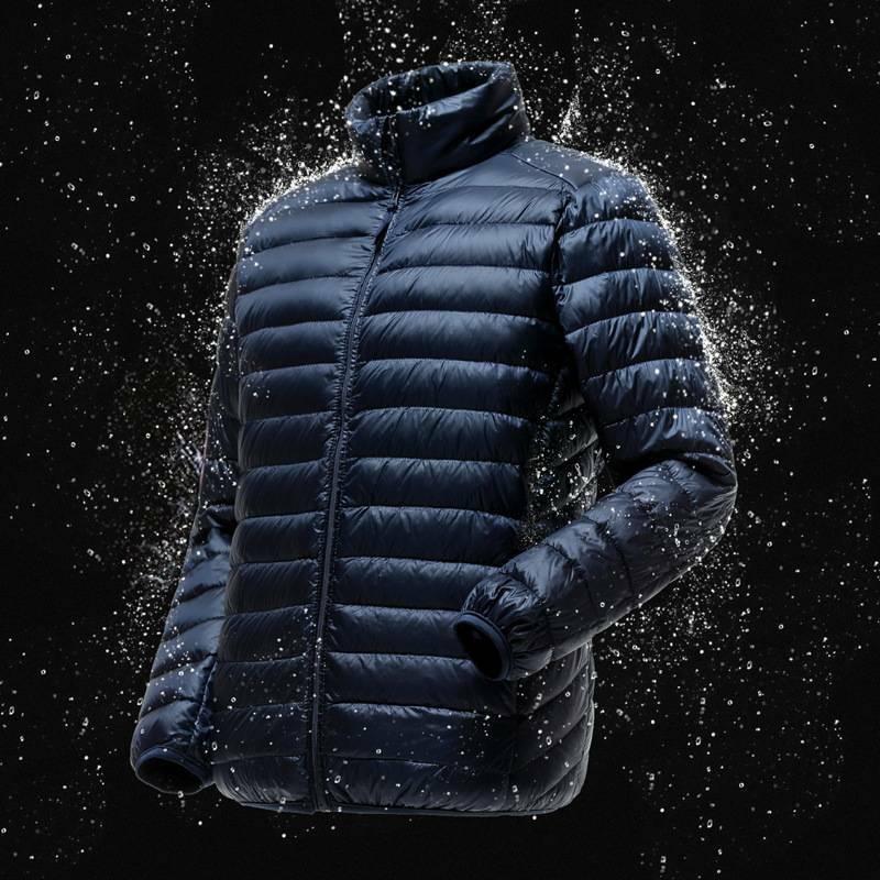 Men Packable Down Jacket 90% Duck Goose Down Coat Lightweigh