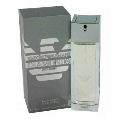 Emporio Diamonds for Men Giorgio Armani Eau de Toilette Spray 2.5 oz  New in Box