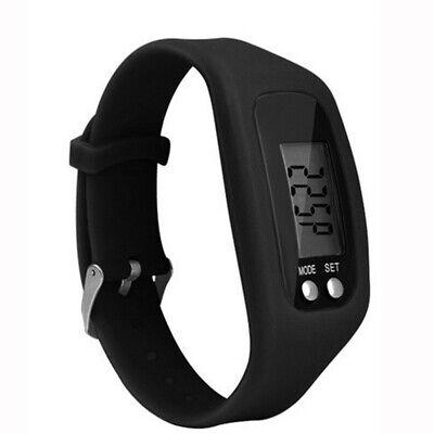 LCD Pedometer Digital Wrist Watch Running Step Distance Calorie Counter Bracelet