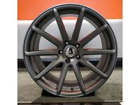 """20"""" Staggered TGA V10 Wheels and tyres for a BMW 3 Series and 4 Series"""