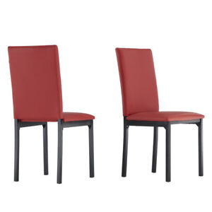 •Nikon Upholstered Side Chairs •Set the perfect seat in any en