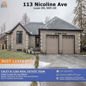 113 Nicoline Ave – This CUSTOM BUILT home will blow you away!
