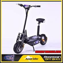 2016 ASSASSIN USA DE1600W 1600WATT BRUSHLESS 48V ELECTRIC SCOOTER Caringbah Sutherland Area Preview
