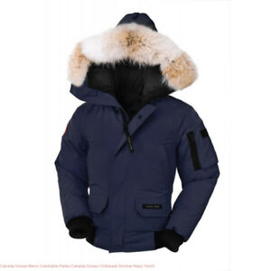 Women's Navy Canada Goose - Chilliwack Bomber (Size Small)