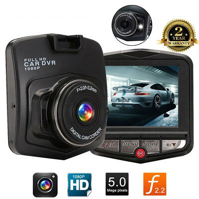HD 1080P Car DVR Camera Dash Cam Video Recorder Night Vision G Sensor Black UK