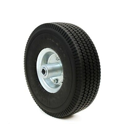 10 Flat Free Tubless Tire Wheel 4 Handtruck Dolly Go Kart Wagon Hand Truck Foam