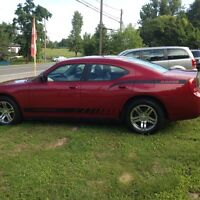 07 CHARGER CERT TAX WARRANTY ALL INCL IN PRICE 7684.00
