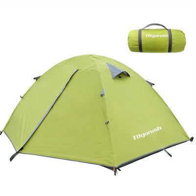 Campingzelt Leicht Zelt Kuppelzelt Trekkingzelt Wasserdicht für drei Personen