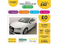 Audi A3 2.0TDI S Line FINANCE OFFER FROM £62 PER WEEK!