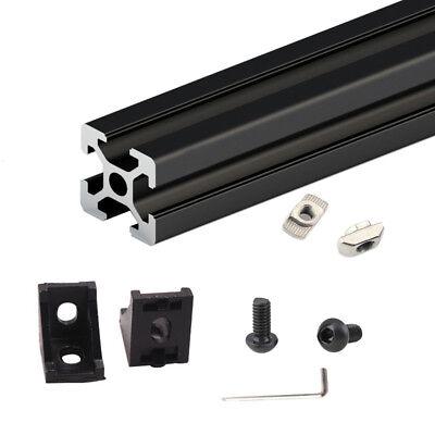 1set Black Hypercube 3d Printer Aluminium Extrusion Profiles Frame Full Kit