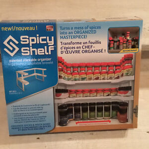Spicy shelf spice organizer cheaper than bed bath and beyond