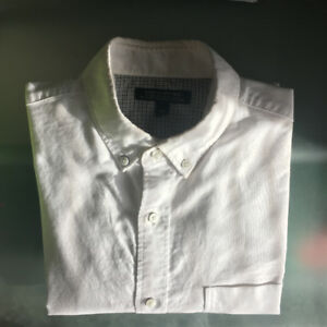 White Oxford Shirt, Banana Republic, Tailored Slim Fit