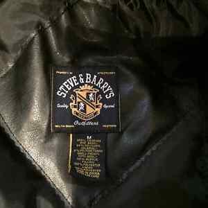 Leather mens coat Stratford Kitchener Area image 4
