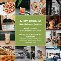 NOW HIRING FOR NEW LOCATION // ALL POSITIONS