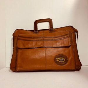 *BUGATTI - sac en cuir / malette - (men or women ) UNISEX*