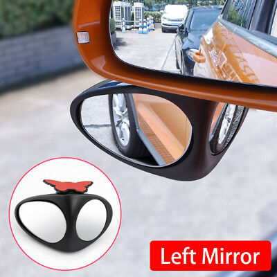 Car Left Side Rear View Blind Spot Replenish Sight Glass Mirror Accessories...