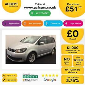 Volkswagen Touran FROM £51 PER WEEK!