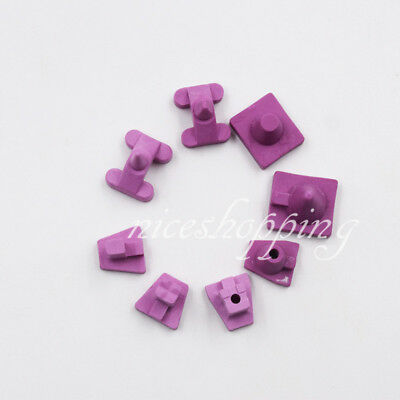 8 Pcs Dental Ceramic Firing Porcelain Pegs Pges Kits Lab For Oven Tray 8 Types