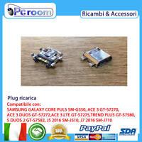 Connettore Ricarica Jack Plug Micro Usb Samsung Galaxy S Duos 2 Gt-s7582 - samsung - ebay.it