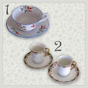 CHINA TEA & DEMI-TASSE CUPS