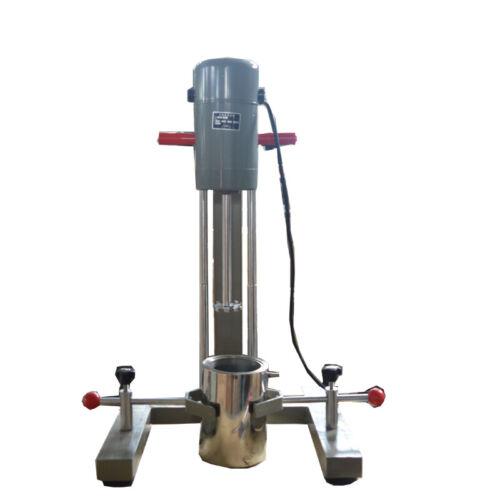 High Speed Dispersing Mixer Machine 220V Disperser  Emulsifier Machin