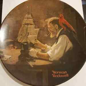 Collector's plate The Shipbuilder