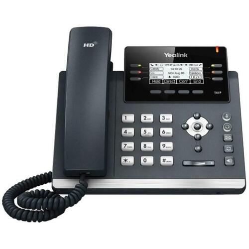 Yealink SIP-T41P 3-Line VOIP POE Business Desk Phone Kit